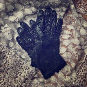 Vintage Miss Aris Leather Gloves